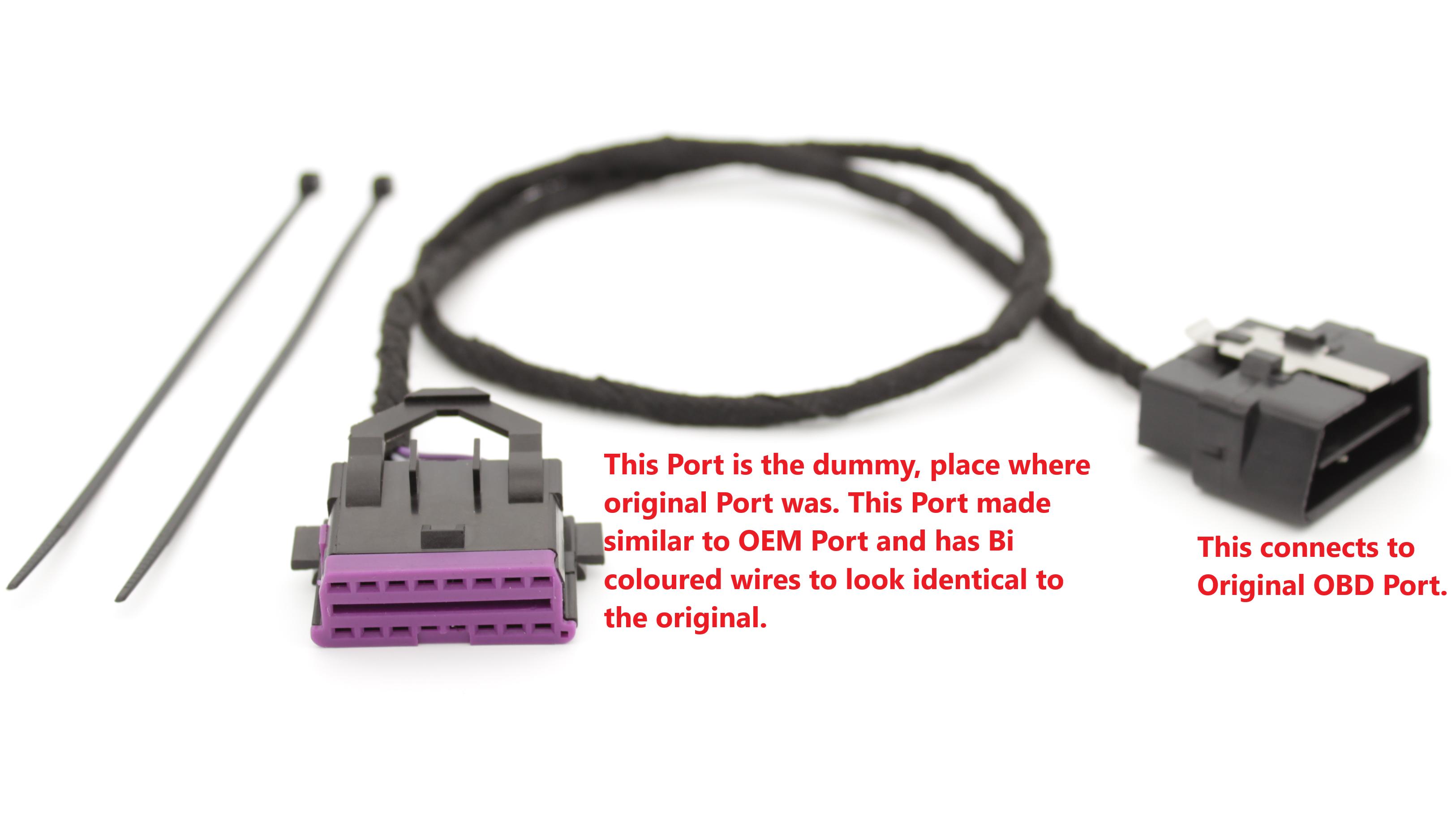 Ford Dummy OBD port | Dummy OBD